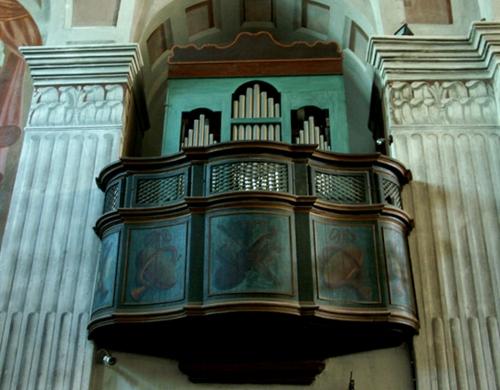14 -  Belgodère - orgue Lazari 1761 pour le couvent des Servites de Belgodère- transféré àSt Thomas en 1797 - restauration Loriaut 2006.jpg