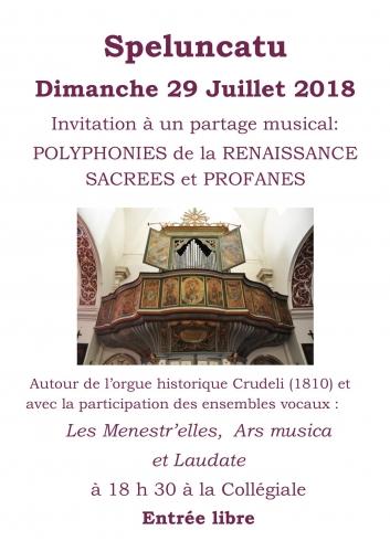 affiche chants Renaissance Speloncato 29 juillet 2018.jpg