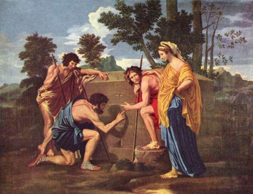 les Bergers d' Arcadie Poussin vers 1638.jpg