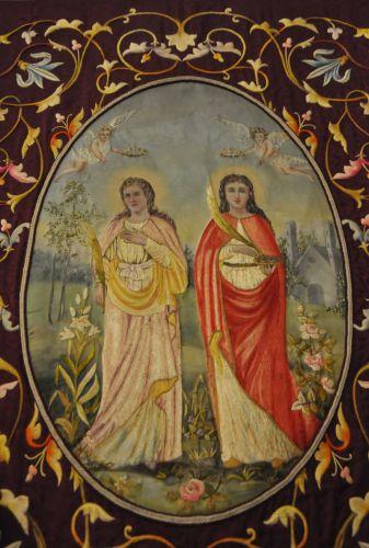 Banière Ste Felicité et Ste Lucie Ville di Petrabugno blog.jpg