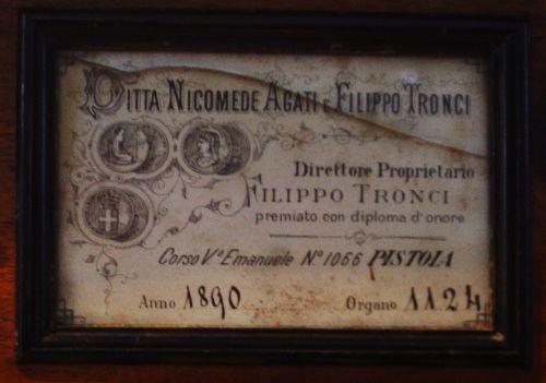 étiquette de la DittaAgati Tronci.jpg
