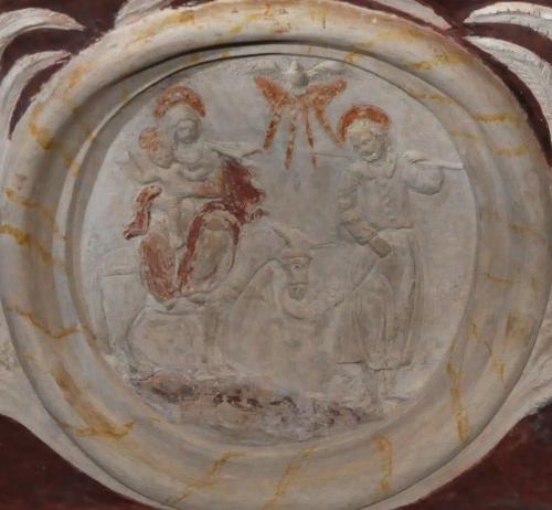 vieillard syméon,prophétesse anne,trinité terrestre et sainte trinité