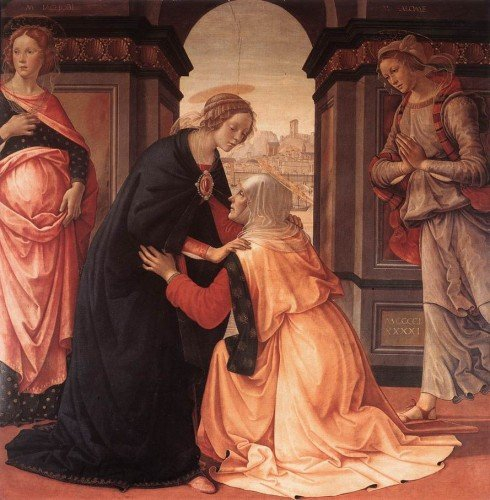 Ghirlandaio Visitation 1491 Louvre.jpg