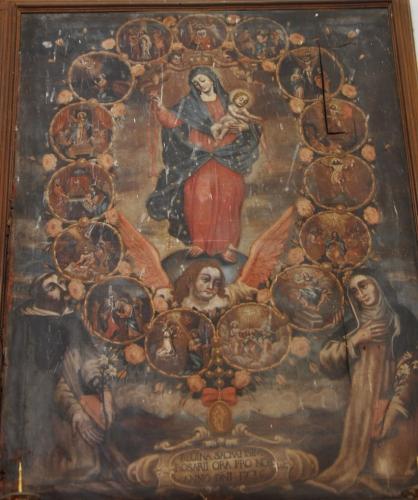 Feliceto Rosaire anonyme 1736.jpg
