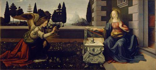 Leonard de Vinci Annonciation blog.jpg