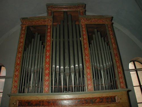 Etienne Jacquemin, orgue Werle de Corte