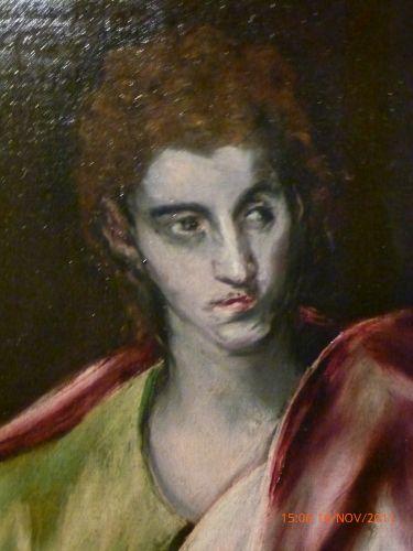 tolède,el greco,les apôtres,musée el greco