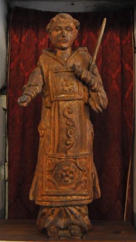 San Stefano Quenza statue bois.jpg