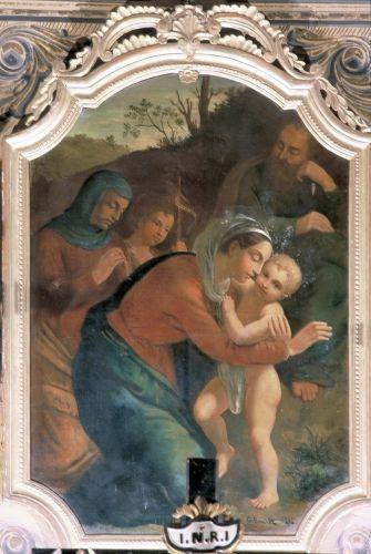 valle d'orezza,sainte parenté,giuseppe maria casalta,giovanni raffali,sainte anne,saint joseph,sainte elizabeth,saint joachim,fuite en egypte