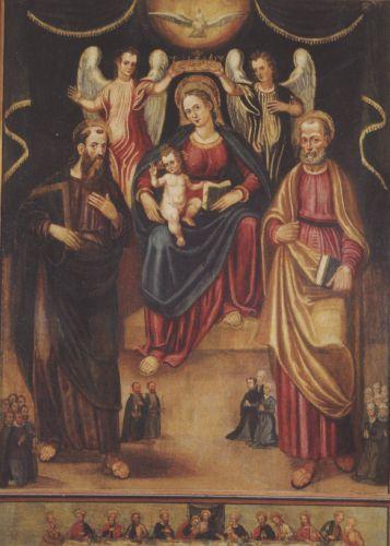 Belgodère Vierge à l'Enfant avec St Thomas et St Pierre-  Aicardo et Castellini 1595 blog.jpg