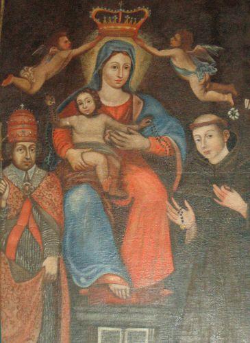 Incinacce Vierge du Rosaire entre St Sylvestre et St Antoine de Padoue.jpg