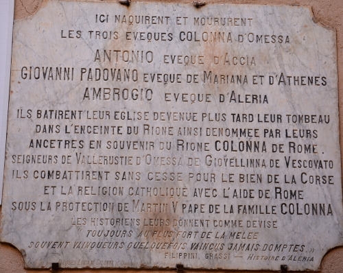 Omessa plaque Evêques.jpg