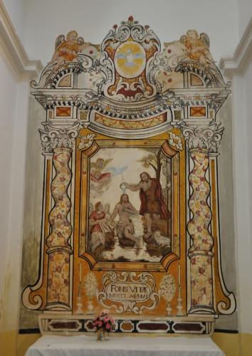 Baptême du Christ- Ignazio Saverio Raffali le vieux- 1750- Ficaghja copie.jpg