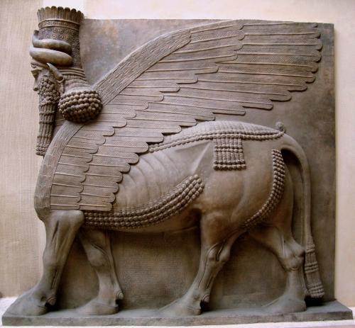 Lamassu taureau ailé de Dur-Sharrukin -713 a.J.C.jpg