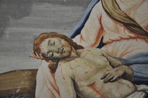 Ficaghja sepolcru Christ gisant.jpg