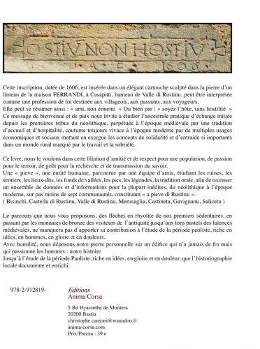 livre sur le la pieve du rustinu,toussaint quilici,législation sur l'archéologie,législation sur les découvertes fortuites en archéologie