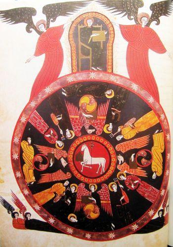 la trinité d'aregno,marie madeleine davy,initiation à la symbolique romane,le grand architecte créant le monde,le tireur d'épine