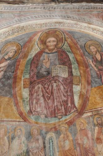 Sermanu le Christ en majesté dans sa mandorle - XVe s.jpg