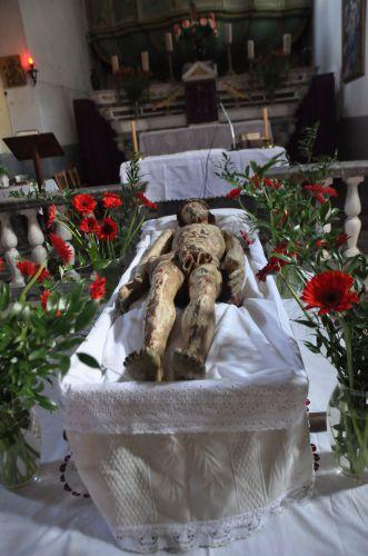 art sacrés,sepolcri peints de corse,semaine sainte en corse,passion st matthieu bach,maureen forester