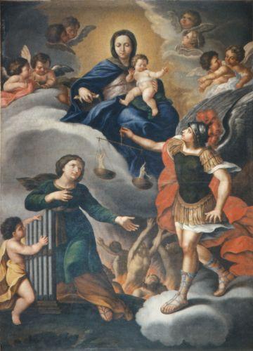 Giordani J -  Tableau d'autel - 1862 - église de  Pianello.jpg