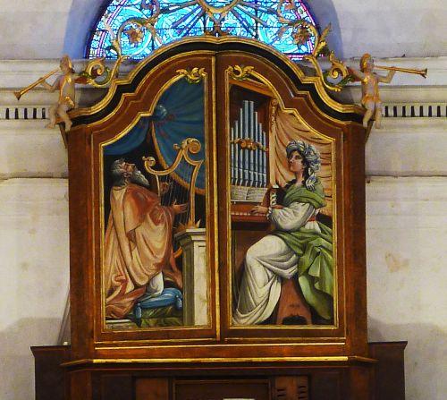 Corbara volets ste Cécile et le Roi David.jpg