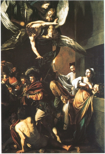 Le Caravage,Sept oeuvres de Misericorde copie.jpg