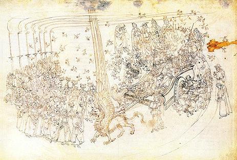 Sandro Botticelli - Dante -le char du Griffon.jpg