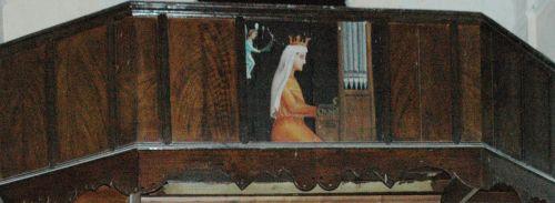 ste cécile,le roi david,tribunes et volets d'orgues peints en corse,psaumes de david,davia,corbara,zilia,sant antonino,speloncato,piedigrisgio,castiglione,san martinu di lota,lozzi,ochjatana,palasca,pianellu