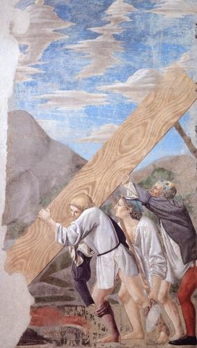 Arezzo enterrement de la Croix Piero della Francesca réalisé par Giovanni da Piamonte.jpg
