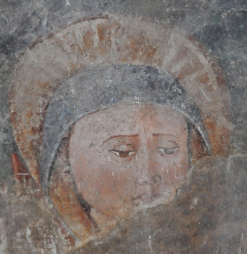 le visage de la Vierge au pied de la Croix blog.jpg