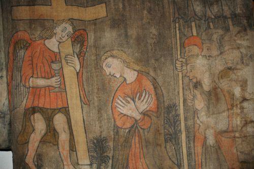 arts sacrés,sepolcri peints de la semaine sainte