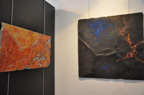 ewposition d'art contemporain,spaziu d'ile rousse,pierre pardon,mario sabaty
