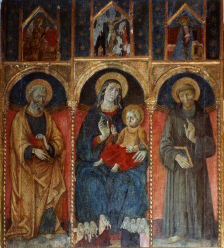 le Maître de Pino- Eglise Sta Maria Assunta- retable tripartite datable  de 1520 -.jpg