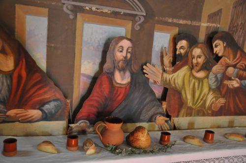 Christ bénissant Cène Gilio.jpg