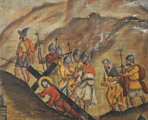 Castellu di Rustinu Jésus tombe sous la Croix détail blog.jpg