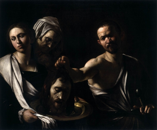 Caravaggio Décollation 1607.jpg