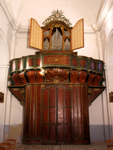 46 Corbara Collégiale Annonciation- orgue Agati-Tronci 1890 -restauration Hartmann 1979 blog.jpg