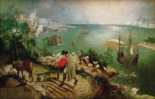 Pieter Bruegel l'Ancien - La chute d'Icare.jpg